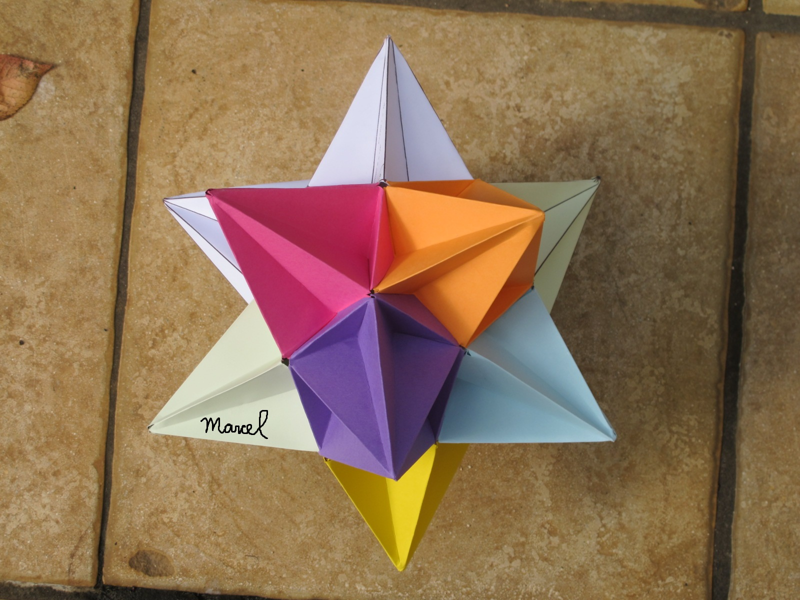 Ii marcel morales kepler poinsot regular polyhedra by origami the great icosahedron jeuxipadfo Gallery